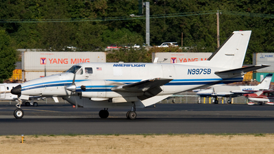 N997SB - Beech C99 Airliner - Ameriflight