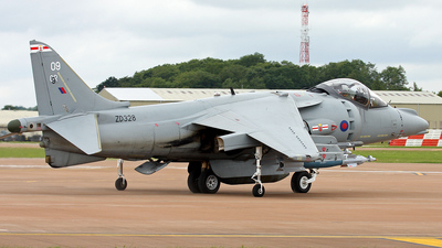 ZD328 - British Aerospace Harrier GR.9 - United Kingdom - Royal Air Force (RAF)