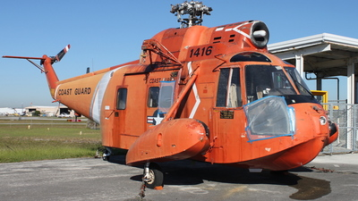 1416 - Sikorsky HH-52A Sea Guard - United States - US Coast Guard (USCG)