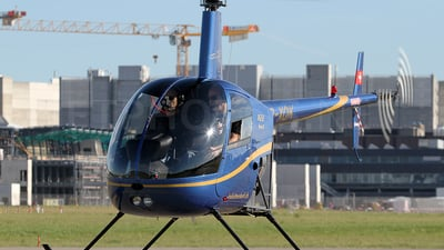 A picture of HBXQK - Robinson R22 Beta II - [2757] - © Peter Menner