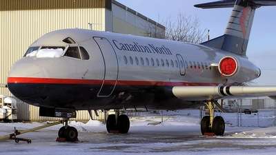 C-FTAR - Fokker F28-1000 Fellowship - Canadian North