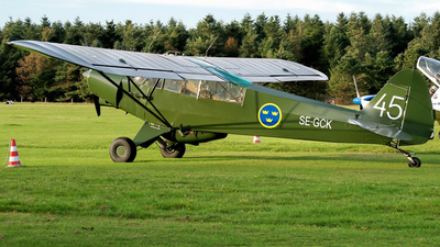 A picture of SEGCK - Piper PA18150 Super Cub - [187918] - © Marius Hoepner