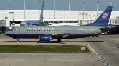 N350UA - Boeing 737-322 - United Airlines