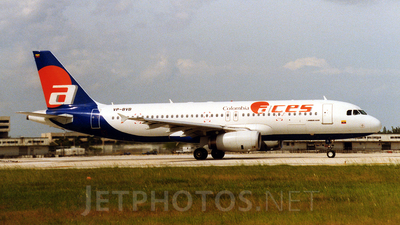 VP-BVB - Airbus A320-233 - ACES Colombia