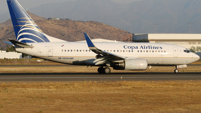 HP-1525CMP - Boeing 737-7V3 - Copa Airlines