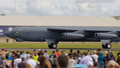 60-0058 - Boeing B-52H Stratofortress - United States - US Air Force (USAF)
