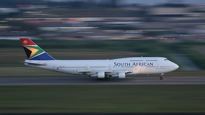 ZS-SAC - Boeing 747-312 - South African Airways