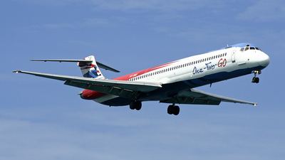 HS-OMD - McDonnell Douglas MD-82 - One-Two-GO by Orient Thai