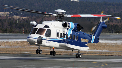 A picture of CGQCH - Sikorsky S92A Helibus -  - © Mark Stares