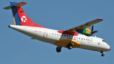 OY-CIU - ATR 42-300 - Danish Air Transport (DAT)
