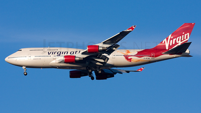 G-VFAB - Boeing 747-4Q8 - Virgin Atlantic Airways