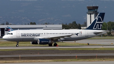 F-OHMN - Airbus A320-231 - Mexicana