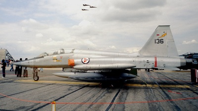 136 - Northrop F-5B Freedom Fighter - Norway - Air Force