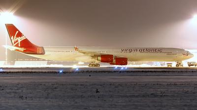 G-VATL - Airbus A340-642 - Virgin Atlantic Airways