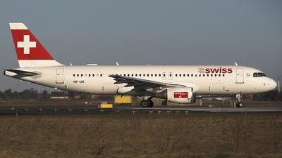 HB-IJB - Airbus A320-214 - Swiss