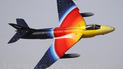G-PSST - Hawker Hunter Mk.58A - Private