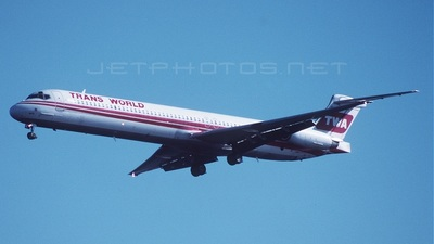 N9412W - McDonnell Douglas MD-83 - Trans World Airlines (TWA)