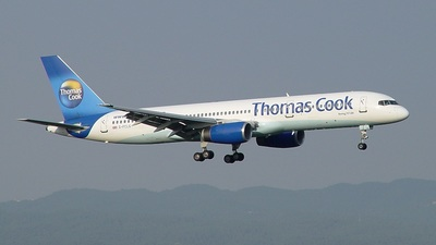 G-FCLG - Boeing 757-28A - Thomas Cook Airlines