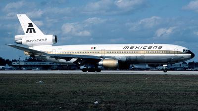 N1003L - McDonnell Douglas DC-10-15 - Mexicana