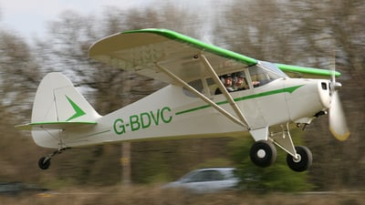 G-BDVC - Piper PA-17 Vagabond - Private