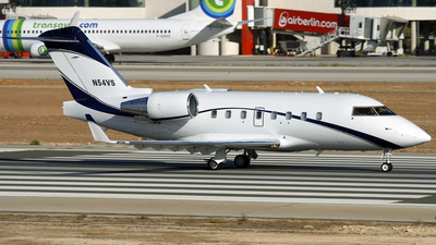 A picture of N54VS - Bombardier CL601 Challenger - [5189] - © Richard Sanchez