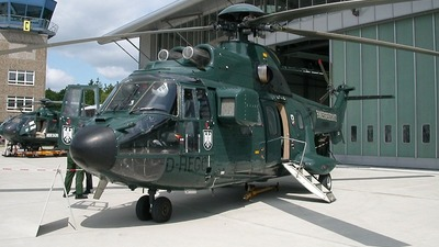 D-HEGC - Aérospatiale AS 332L1 Super Puma - Germany - Bundesgrenzschutz
