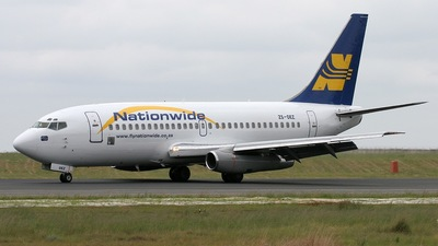 ZS-OEZ - Boeing 737-230(Adv) - Nationwide Airlines