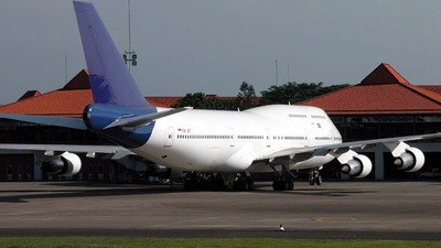 PK-IAT - Boeing 747-312 - Indonesian Airlines