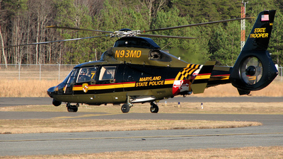 N93MD - A�rospatiale SA 365N1 Dauphin 2 - United States - Maryland State Police