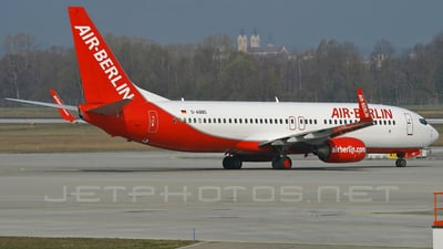 D-ABBD - Boeing 737-86J - Air Berlin