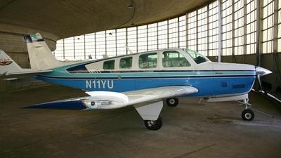 N11YU - Beechcraft A36TC Bonanza - Private
