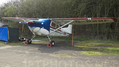 G-BWWF - Cessna 185A Skywagon - Private