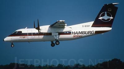 D-BOBY - Bombardier Dash 8-102 - Hamburg Airlines