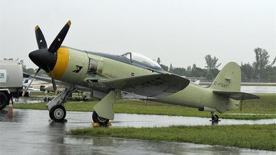 C-FGAT - Hawker Sea Fury T.20 - Private