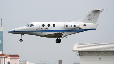 B-8018 - Hawker Beechcraft 390 Premier I - Private