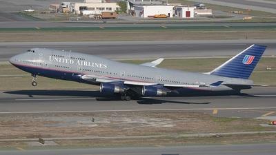 N197UA - Boeing 747-422 - United Airlines