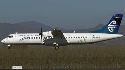 ZK-MCO - ATR 72-212A(500) - Air New Zealand Link (Mount Cook Airline)