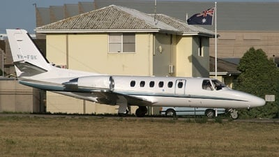 VH-FGK - Cessna 550 Citation II - Executive Airlines