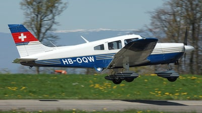 A picture of HBOQW - Piper PA28181 - [287690049] - © Mirko Bleuer