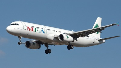 F-ORMF - Airbus A321-231 - Middle East Airlines (MEA)