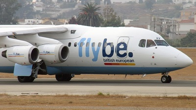 G-JEAV - British Aerospace BAe 146-200 - Flybe