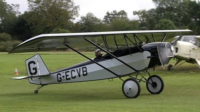 G-ECVB - Pietenpol Gn-1 Aircamper - Private