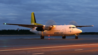 YL-BAS - Fokker 50 - Air Baltic