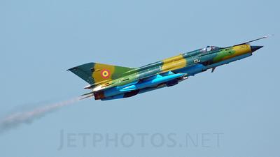 9613 - Mikoyan-Gurevich MiG-21MF Lancer A - Romania - Air Force