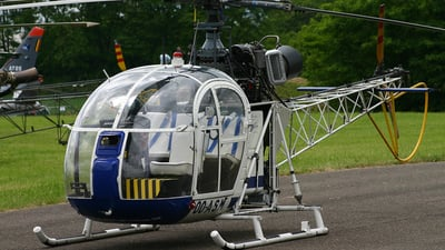 OO-ASM - Sud-Est SE.3130 Alouette II - Private