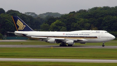 9V-SPO - Boeing 747-412 - Singapore Airlines