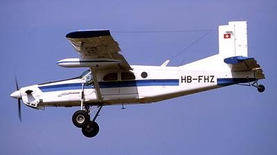 A picture of HBFHZ - Pilatus PC6/B2H4 Turbo Porter - [840] - © Eric Pajaud