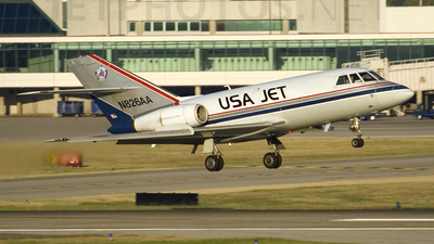 N826AA - Dassault Falcon 20 - USA Jet Airlines