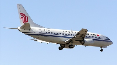 B-2627 - Boeing 737-36E - Air China