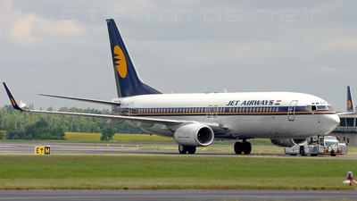 VT-JGE - Boeing 737-83N - Jet Airways